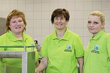 Das Team der Cafeteria Chemikum (v.l.): Birgit Brucker, Marianne Mirsberger, Tatjana Kraft