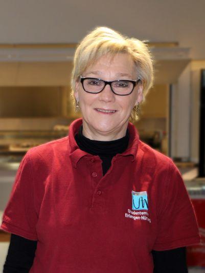 Leiterin der Cafeteria Frau Stockhammer