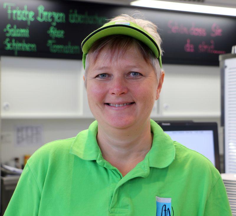 Leiterin der Cafeteria Südblick: Sabine Wagner