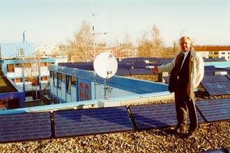 Erzeugung von elektrischem Strom aus Sonnenenergie