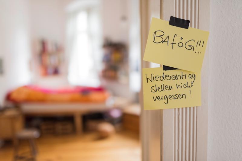 Achtung: BAföG-Weiterförderungsanträge rechtzeitig stellen!