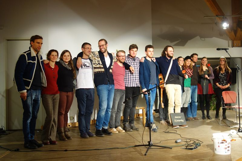 Musikalische Talente beim Musenhäppchen-Jubiläum in Nürnberg