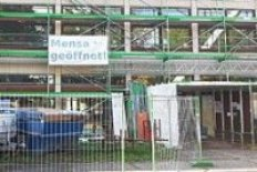Mensa Regensburger Straße Nürnberg trotz Bauarbeiten geöffnet!