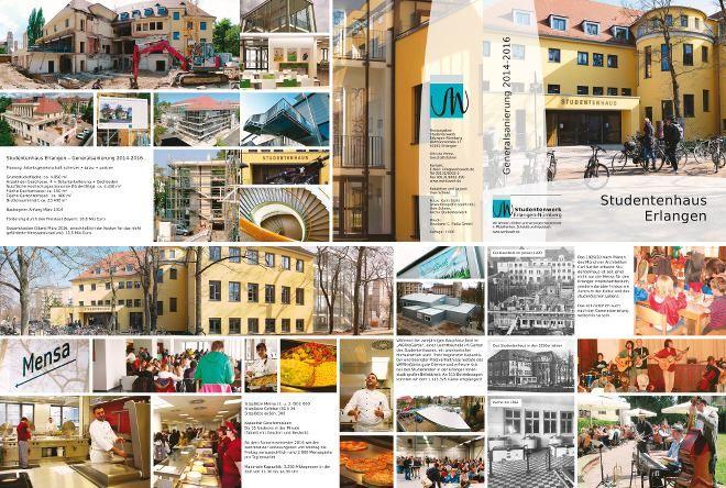 Generalsanierung Studentenhaus Erlangen: Broschüre