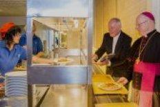 Prominente Mittagsgäste in der Mensa Eichstätt