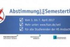 Abstimmung über Semesterticket an der Hochschule Ansbach