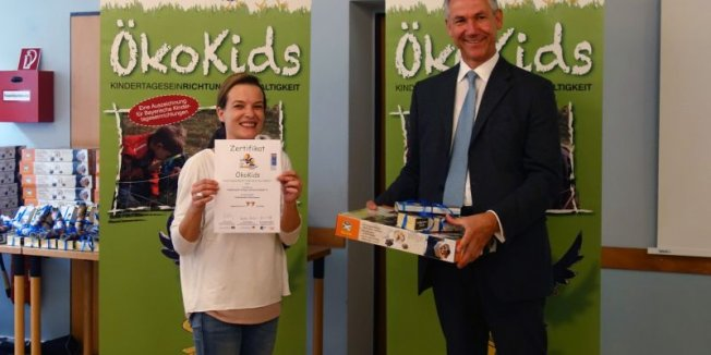 ÖkoKids Zertifikat für Krippe KraKadU II