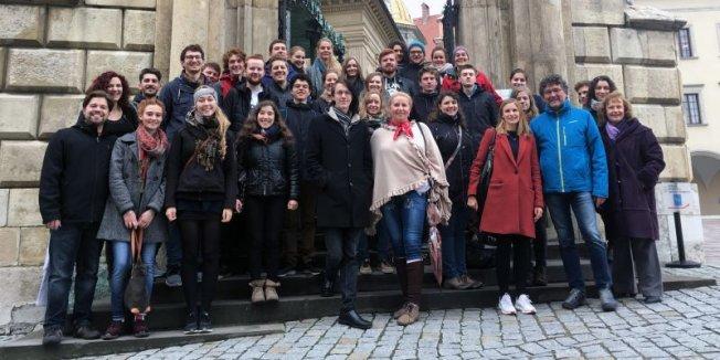 Internationaler Austausch mit Krakau