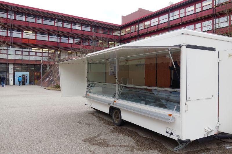 Sanierung der Cafeteria Lange Gasse Nürnberg ab 13. Februar 2017