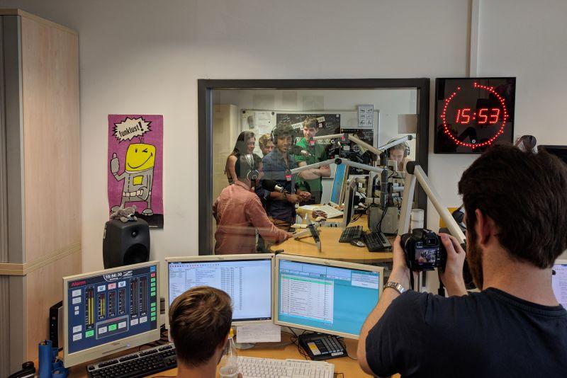 Deutsch-französischer Medienaustausch mit Rennes