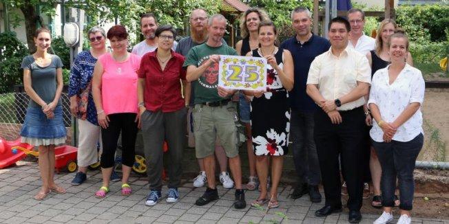 Kinderkrippe KiKriKi feiert 25-jähriges Jubiläum