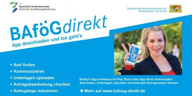 BAföGdirekt - App verfügbar