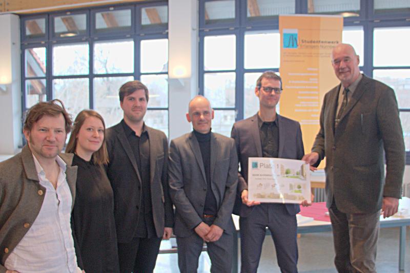 Preisverleihung des Architektenwettbewerbs Avenariusstraße