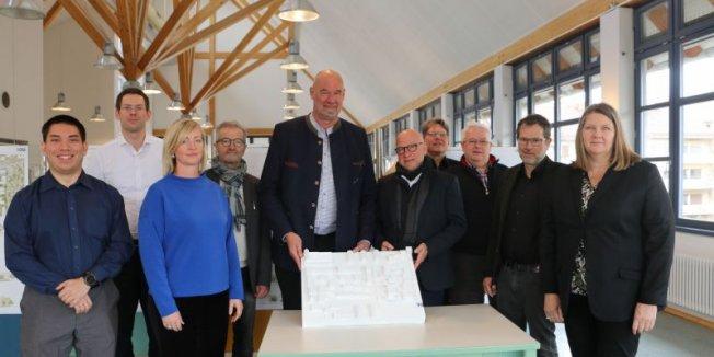 Preisgericht kürt Sieger beim Architektenwettbewerb Avenariusstraße