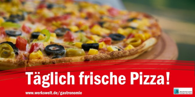 Südmensa & SüdBlick - täglich frische Pizza