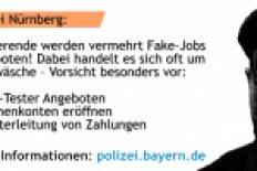Polizei warnt vor Fake-Jobs