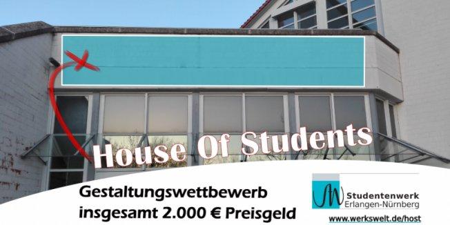 Studentenwerk lobt Gestaltungswettbewerb aus – 2.000 EUR Preisgeld